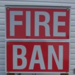 August 2:  Fire Ban in Effect for Huron Shores