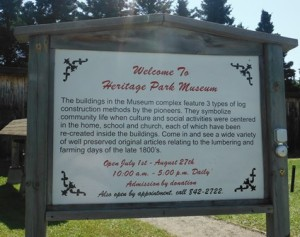 Welcome to Heritage Park Museum