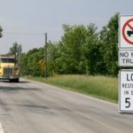 Spring Half-Load Truck Restrictions in Effect