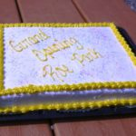 Roe Park Grand Opening Cake