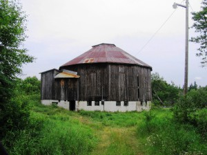 12-sided barn at Sowerby before renovations