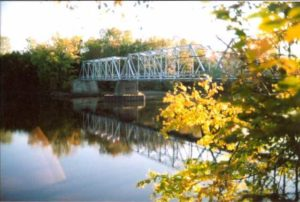 Dean Lake Bridge in Late Summer - Photo by G. Trivers