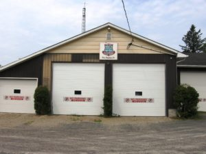 Ward 1 Little Rapids Fire Station building