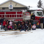 Huron Shores Fire Department Station 1 Hosts Grade 3 Class Visit