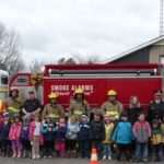 Thessalon Kindergarten Class Visits Fire Station #1
