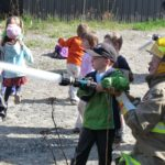 Thessalon Junior Kindergarten Visit Fire Station #1