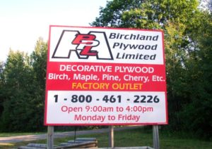 Birchland Plywood Ltd.