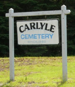 Carlyle Cemetery - 398 Tait Rd