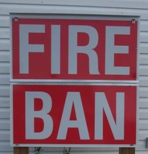 Huron Shores Fire Ban Notice