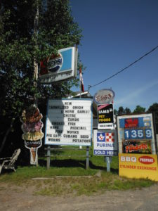 Little Rapids General Store - Sign