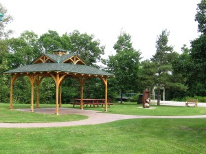 Tally Ho Park Gazebo - Iron Bridge