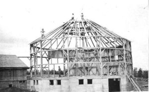 Cordukes/Weber Barn in progress, ca. 1919