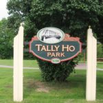 Tally Ho Park Sign