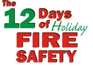 The 12 Days of Holiday Fire Safety Contest