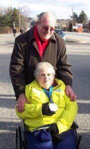 Elva & Councillor Linley