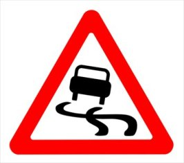 Slippery Road Conditions