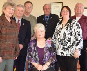 Laura & Council:  Mayor Reeves & Councillors Eldner, Campbell, Linley, Armstrong & Wedgwood