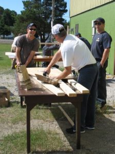 Cameco Cares Day - Museum Benches