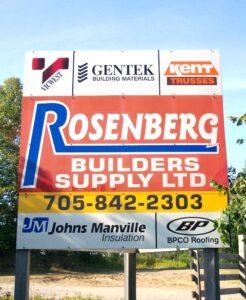 Rosenberg Builders Supply Ltd.