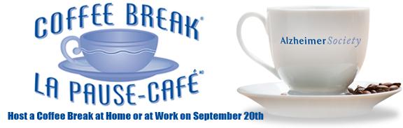 Alzheimer's Society Coffee Break