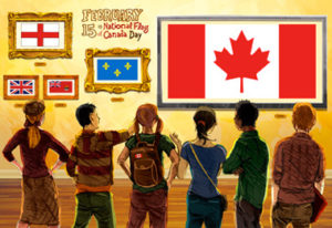 February 15 - National Flag of Canada Day