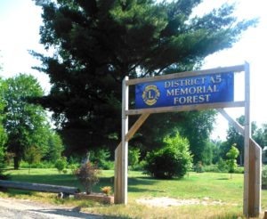 District A5 Memorial Forest