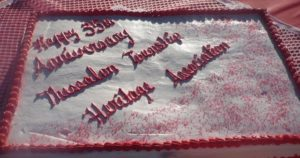 Heritage Association 35th Anniversary Cake
