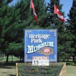Heritage park Museum Welcome Sign