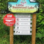 Little Basswood Lake Park Sign