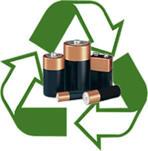 battery recycling symbol