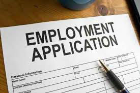 Please submit the Employment Application