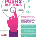 "TVOKids and the OFMEM want all families to  ""Push 2 Buttons!"""