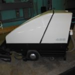 Battery-operated floor scrubber & Charger 1 of 5