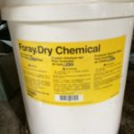 sevem 5-gallon pails of dry chemical 1 of 1