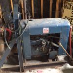 large Ford 4-cylinder motor with priming centrifugal sled water pump 1 of 2