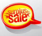 surplus sale clip art