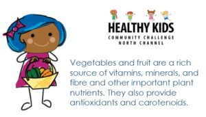 Healthy Kids Community Challenge Key Message - Veggies & Fruit