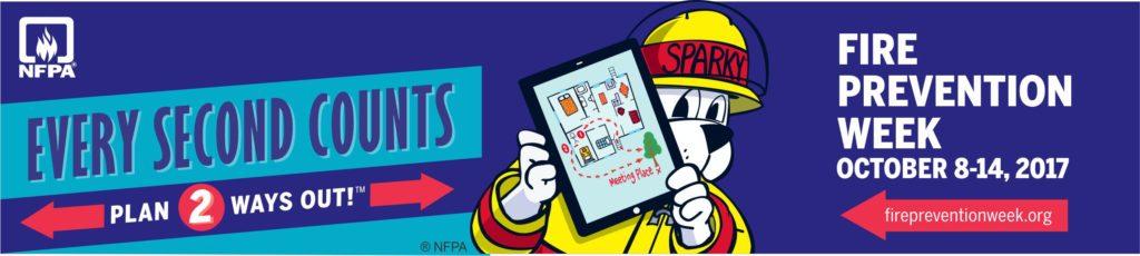 2017 Fire Prevention Week Web Banner