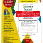 February 22:  Final Summit of the Huron North Community Economic Alliance