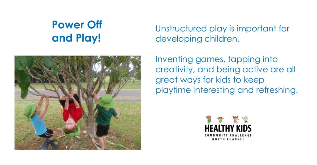 July 9 - Healthy Kids Message of the Week