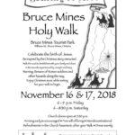 Bruce Mines Holy Walk