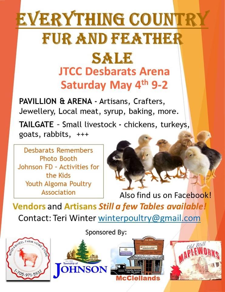 2019 Fur & Feather Sale