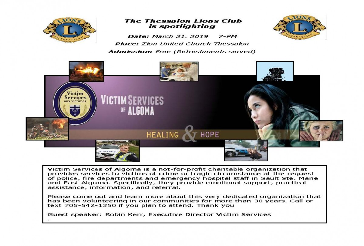 Victim Services Poster