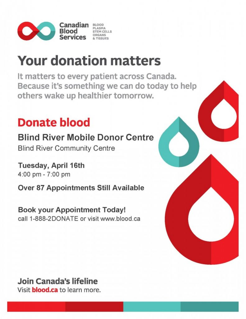 Blood Donor Clinic - April 16'19