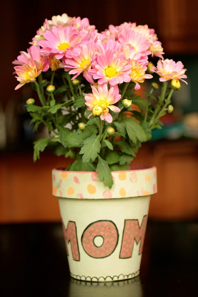 Mother's Day Planted Pot