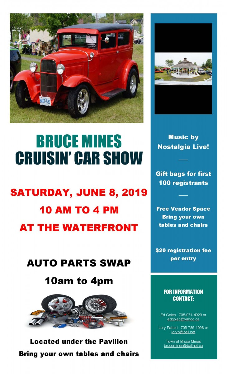 Bruce Mines Car Show - Municipality of Huron Shores
