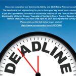 Deadline to submit survey